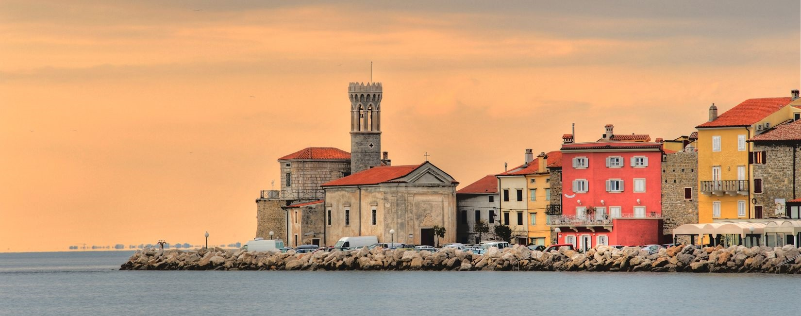 piran panoramic slovenian coast